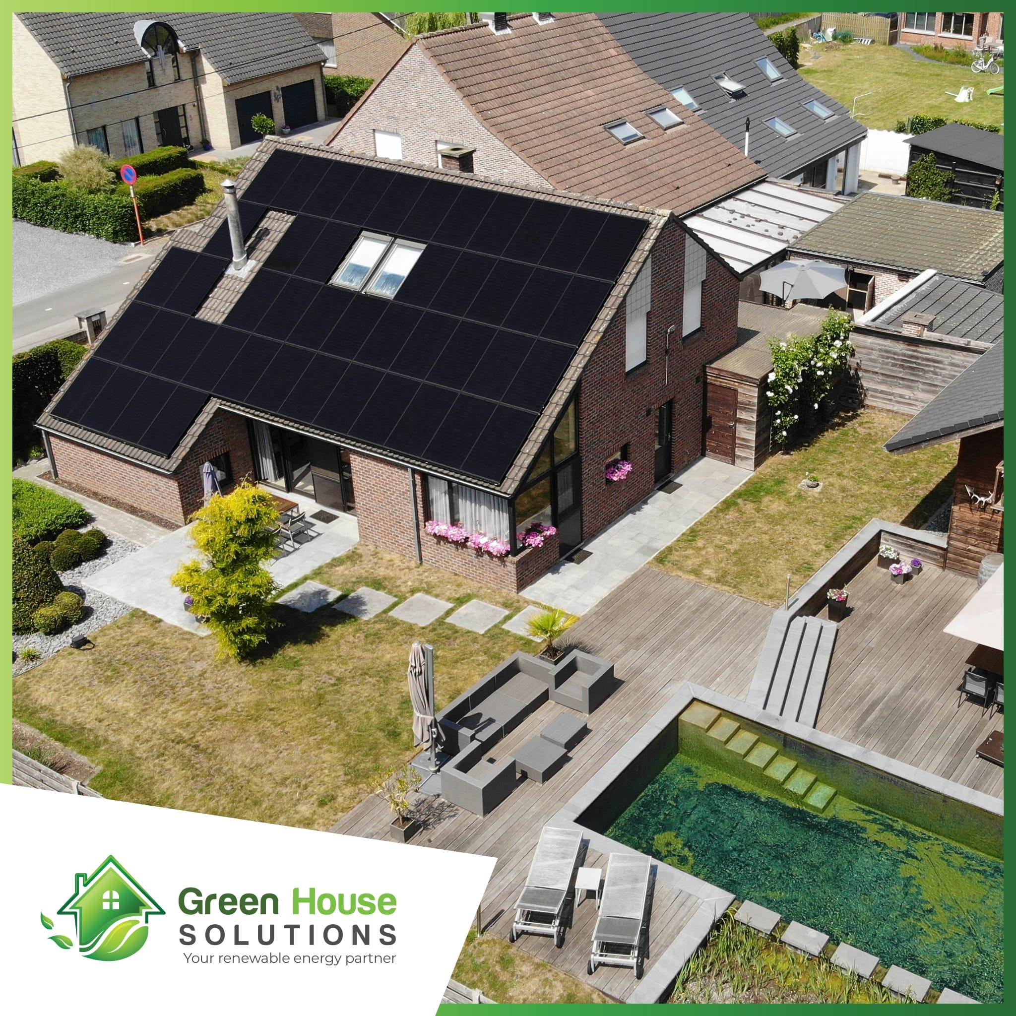 Green House Solutions zonnepanelen plaatsen installeren of kopen in Rotselaar
