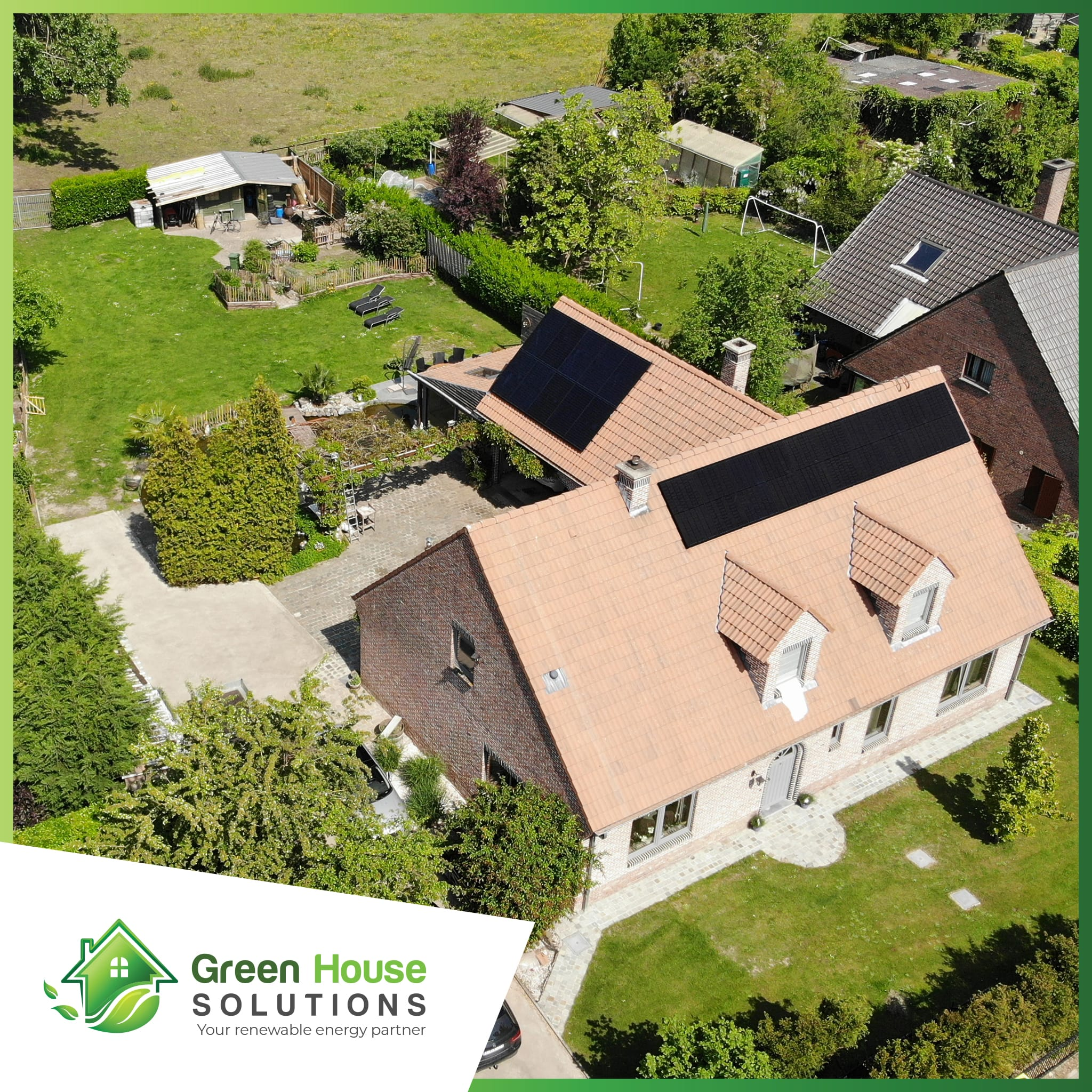 Green House Solutions zonnepanelen plaatsen installeren of kopen in lebbeke