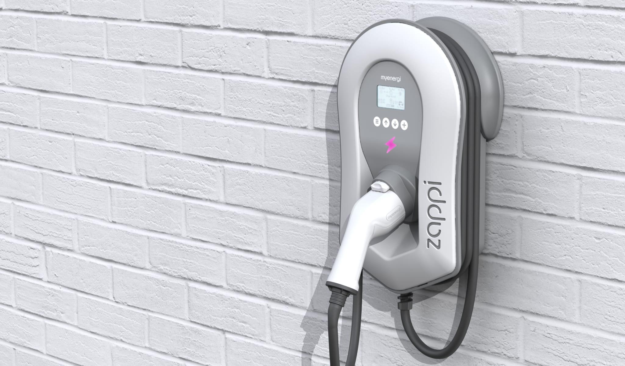 Green House Solutions zonnepanelen batterijopslag laadpalen airconditioning zappi v2 background